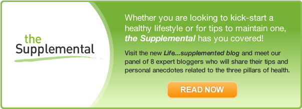 Visit the new Life...supplemented blog